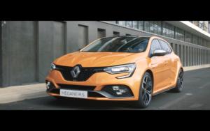Création bande son pour publicité Renault MEGANE RS